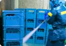 プラスチック容器洗浄